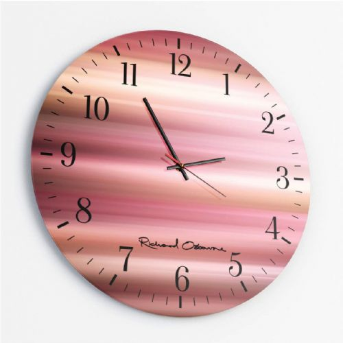Kinetic KA1_57 - Round Glass Clock